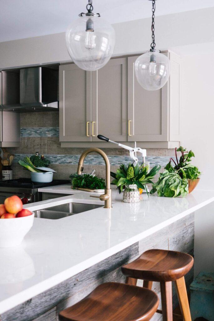A modern kitchen in a Ballina house